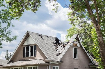 Roof Replacement after Damage